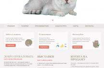 Проектирование сайта питомника шотландских кошек