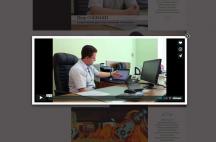 """Сайт визитка видеостудии """"2K"""""""